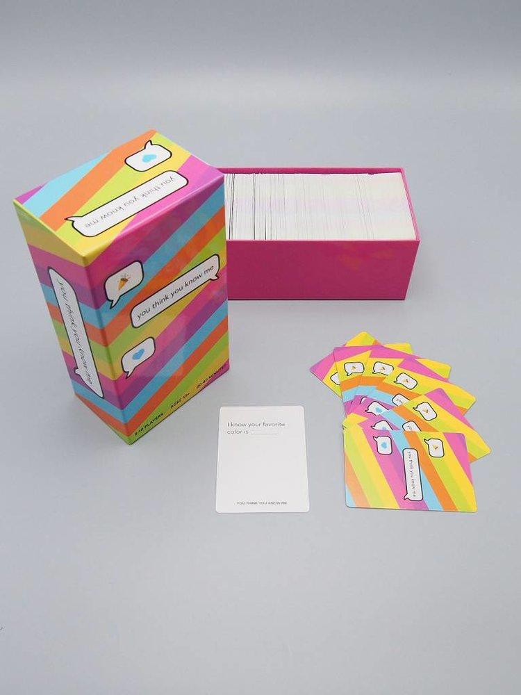 You Think You Know Me Card Game, $30 @herbivoreclothing.com