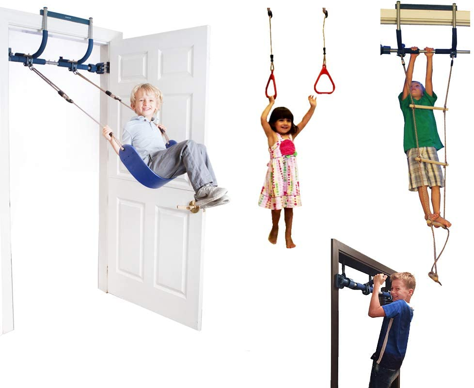 Indoor Swing/ Playground/ Pull Up Bar, $140 @amazon.com