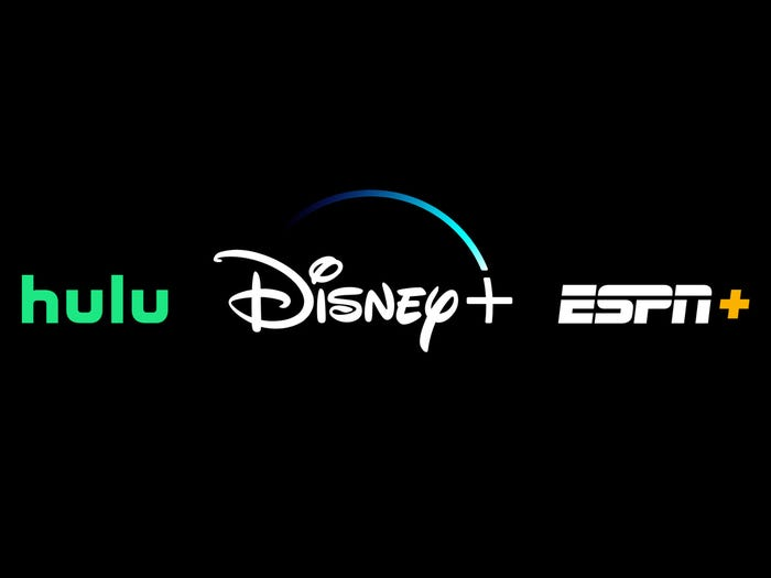 Hulu, Disney+ ESPN+ Bundle, $12.99 per month, available on Disney+, ESPN+, and Hulu