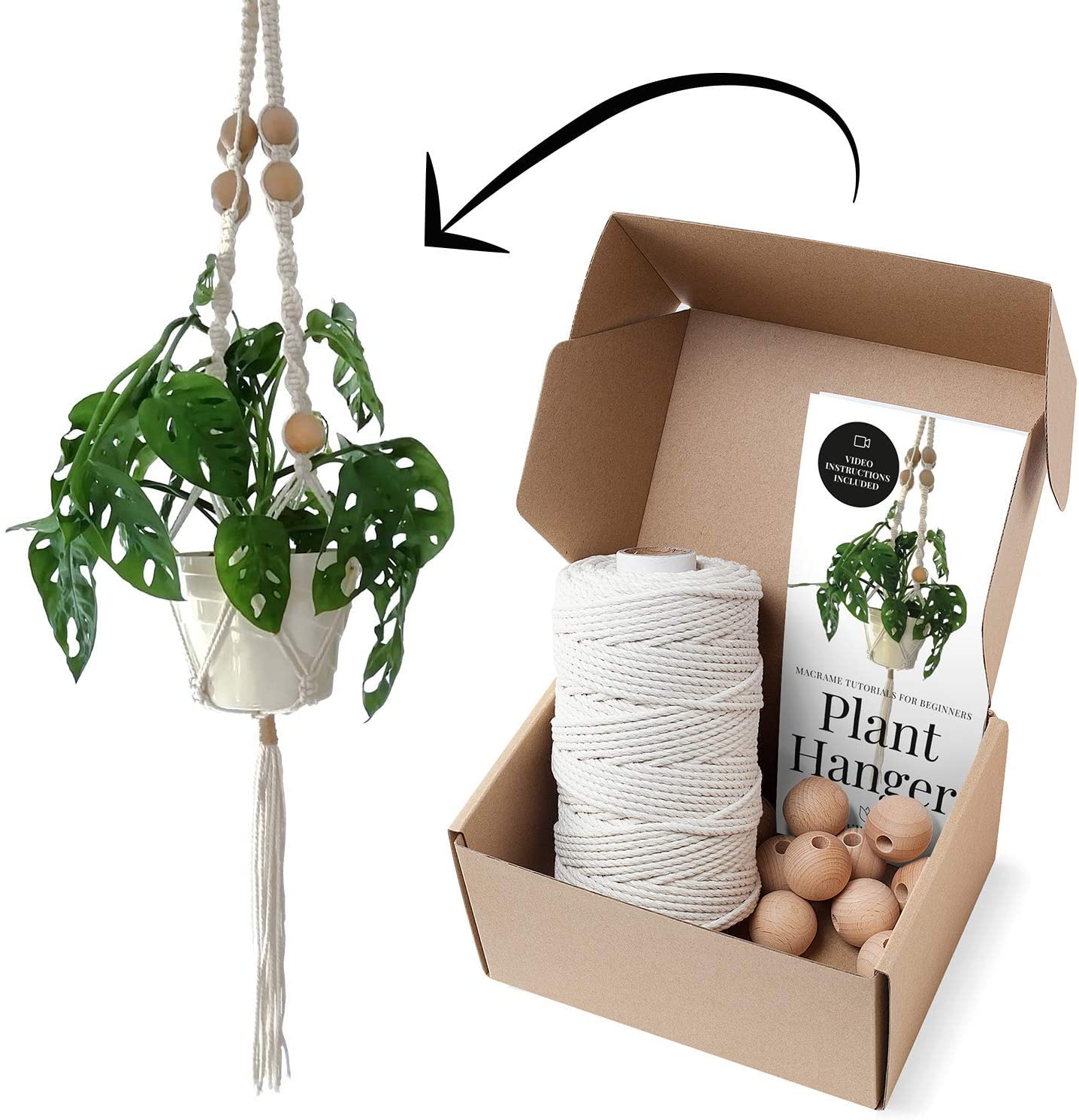 Macrame Kits, $30 @amazon.com