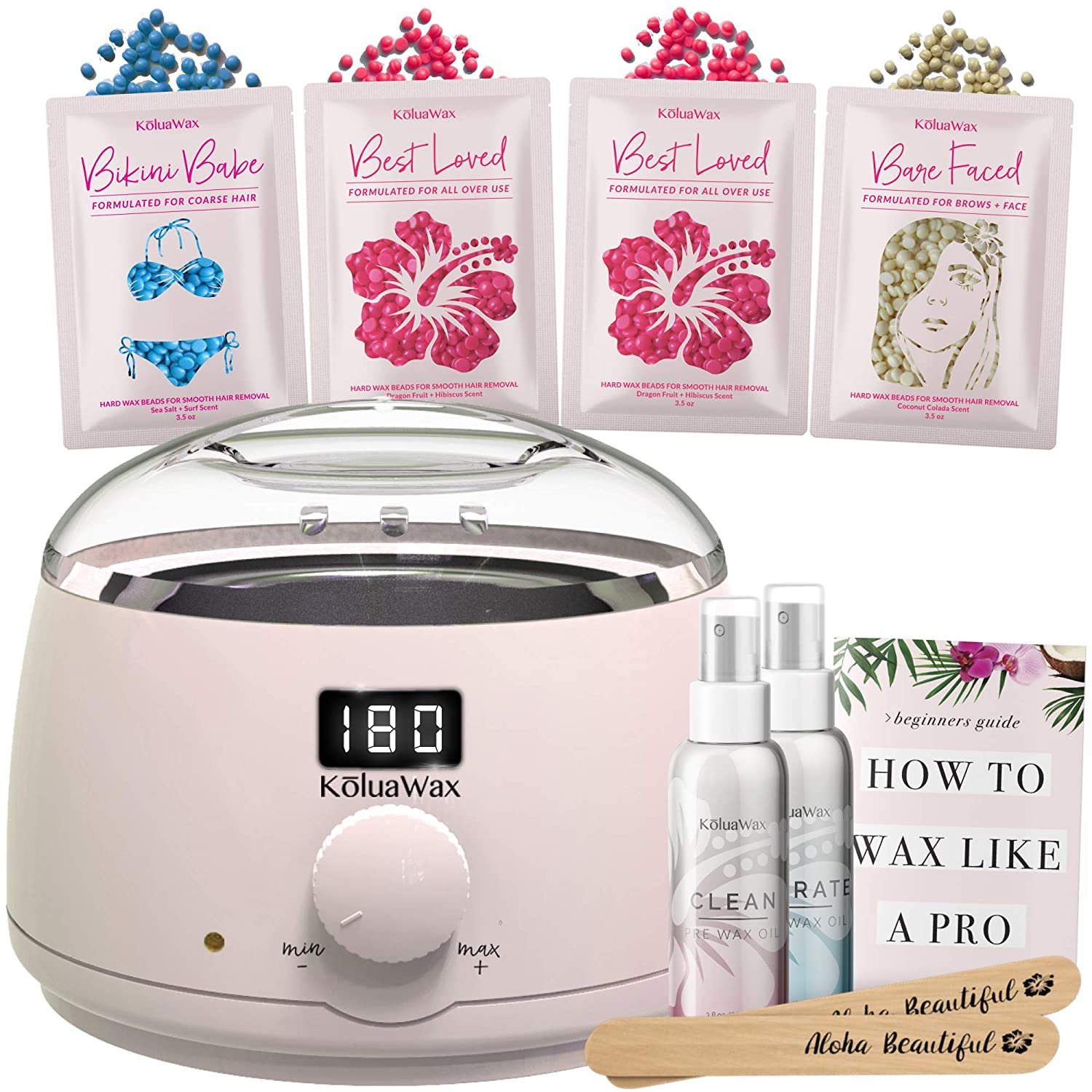Digital Waxing Kit, $40 @amazon.com