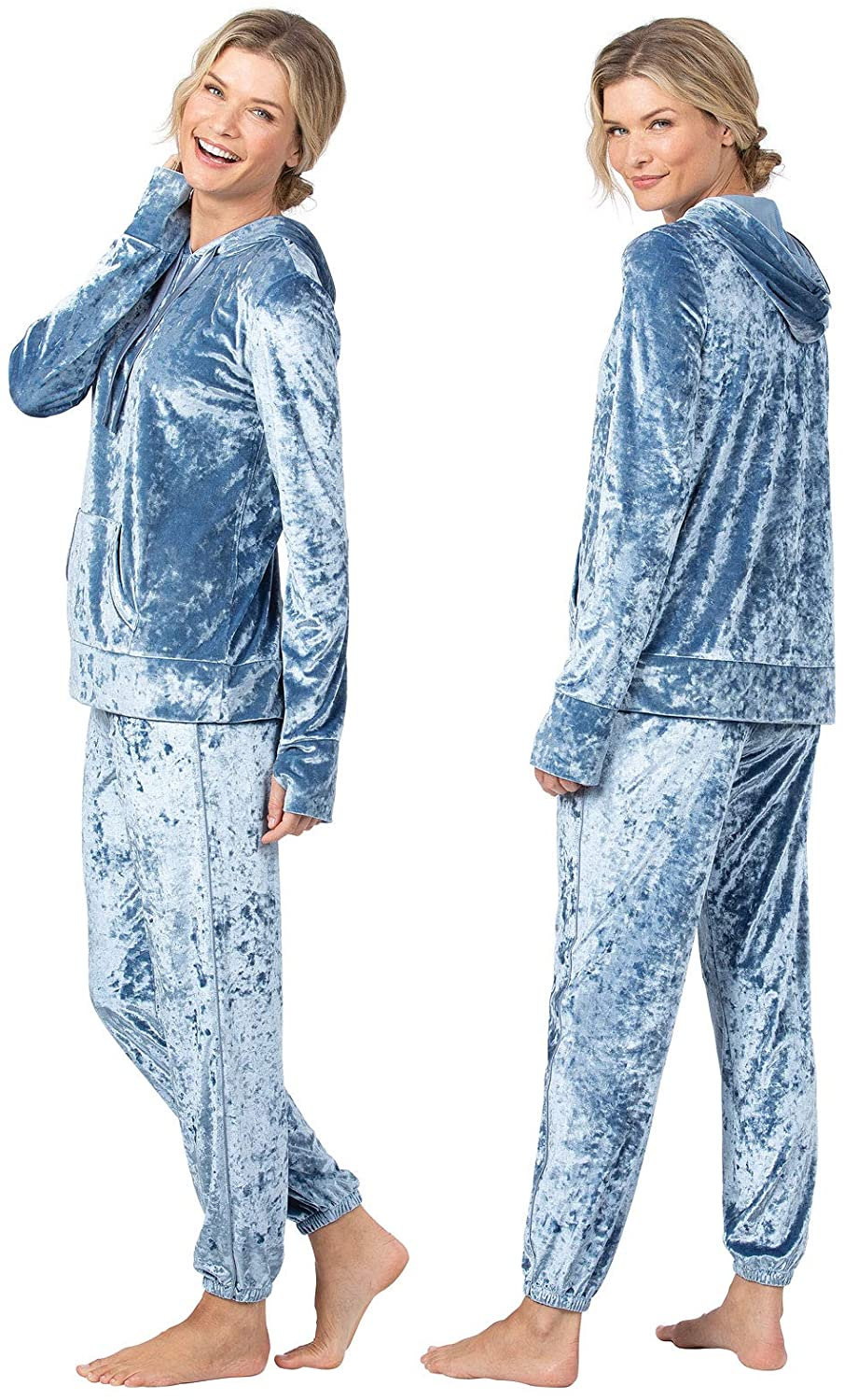 PajamaGram Womans Pajamas Plush Velvet, $21 @amazon.com
