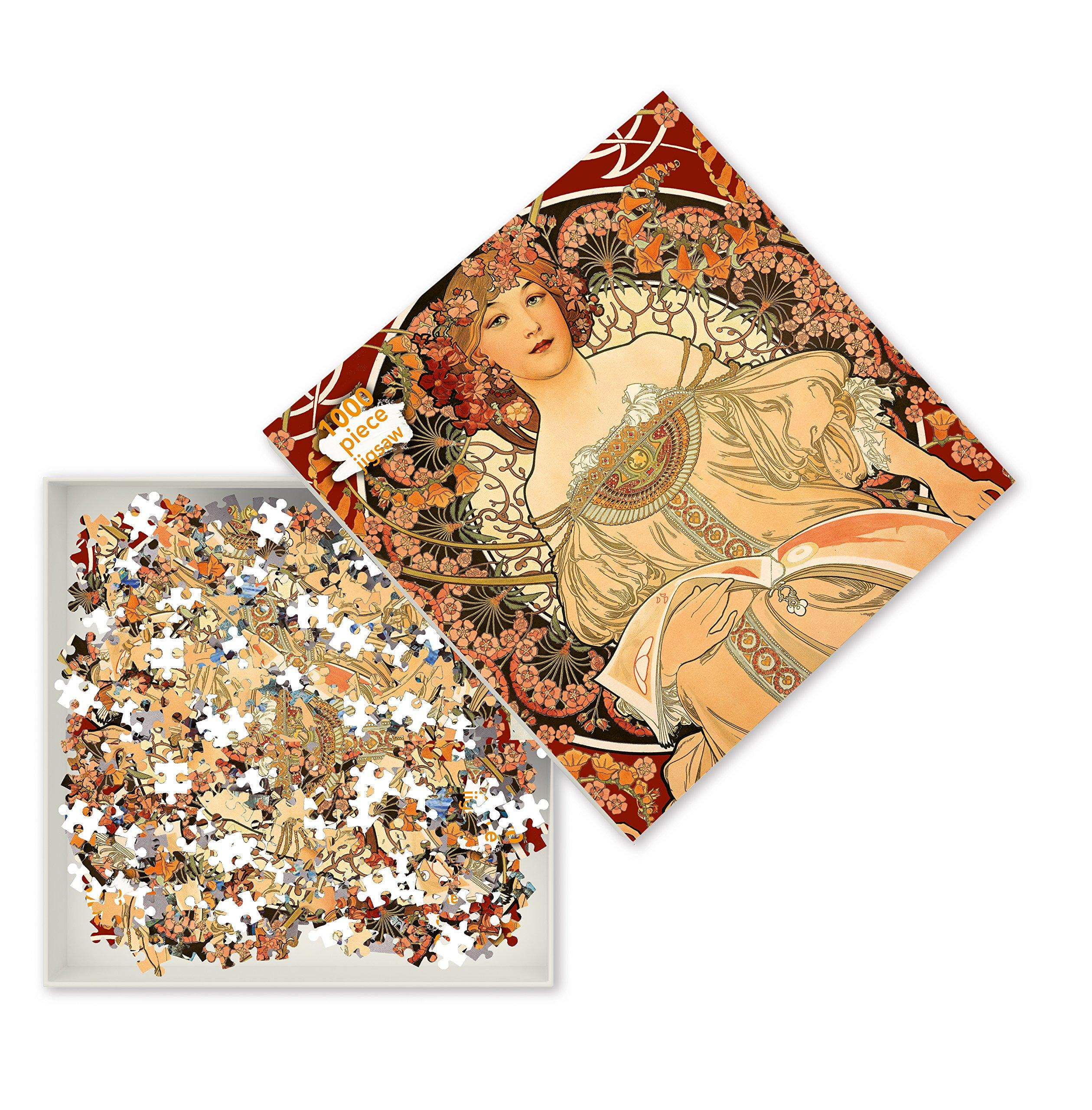 "Mucha Puzzle, ""Reverie"", $22 @amazon.com"