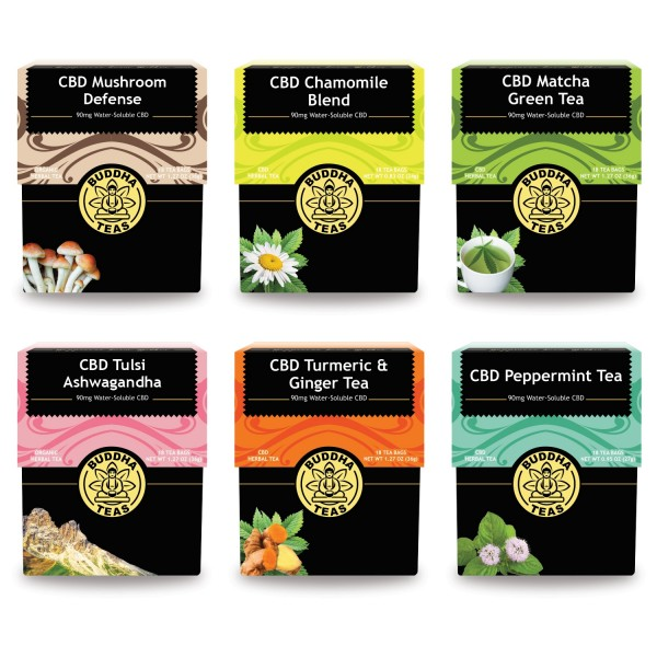 CBD Tea Bundle, $99 @cbdteas.net