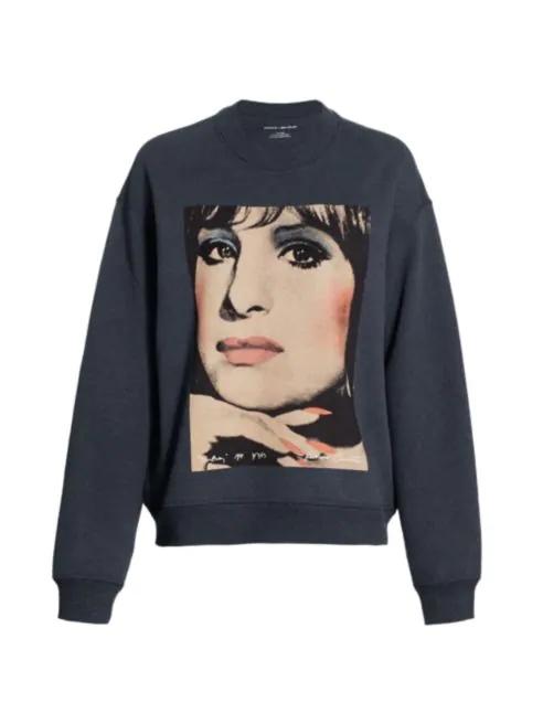 COACH - Barbara Crew Sweatshirt, $168 (ON SALE) @saksfifthavenue.com