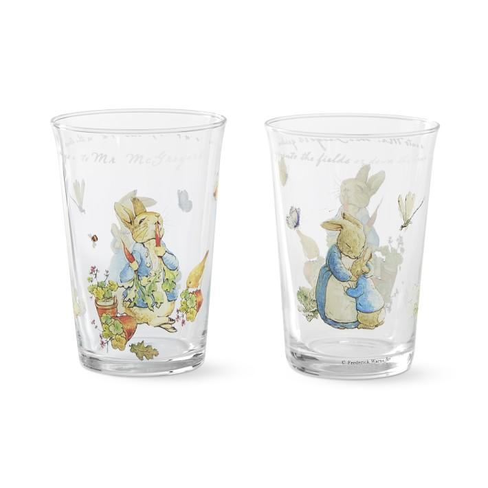 Peter Rabbit Tumblers, Set of 4- $41 @williams-sonoma.com (Okay, they may be missing Easter - but you can still have your own hunt at home and toss back an OJ in these sweet Beatrix Potter tumblers!)