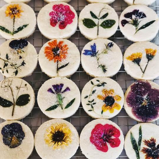 Flower Cookies, $48 @loriastern.com