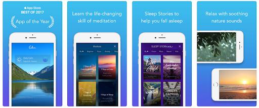 Calming App, FREE @calm.com
