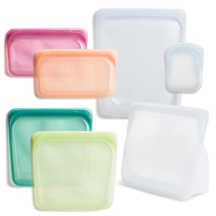 Stasher reusable silicone bag starter kit. $86 @stasherbag.com
