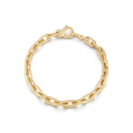 Tatum Thick Gold Chain Bracelet, $5,420 @jadetrau.com