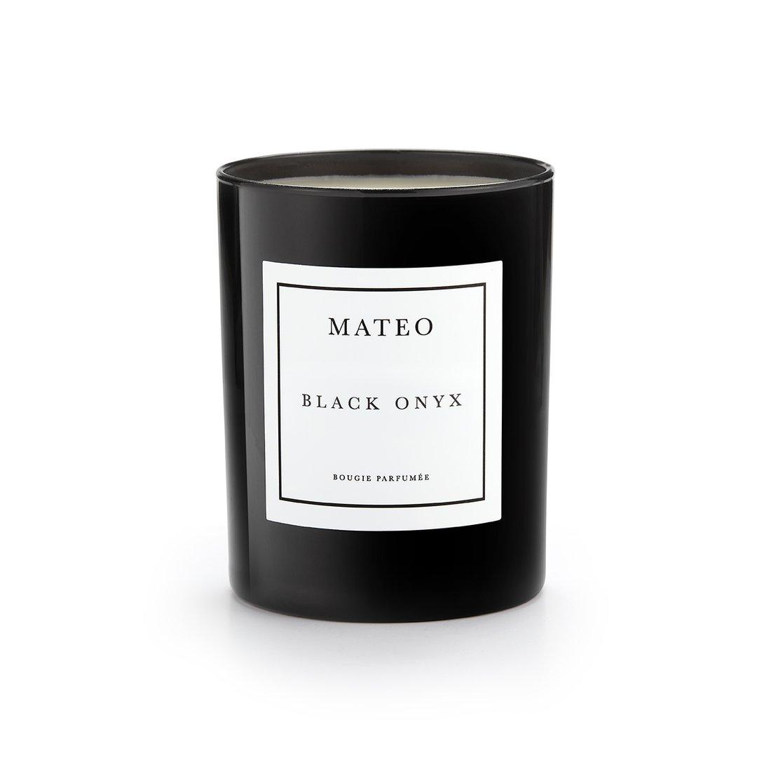 Black Onyx Candle by MATEO, $55 @mateonewyork.com