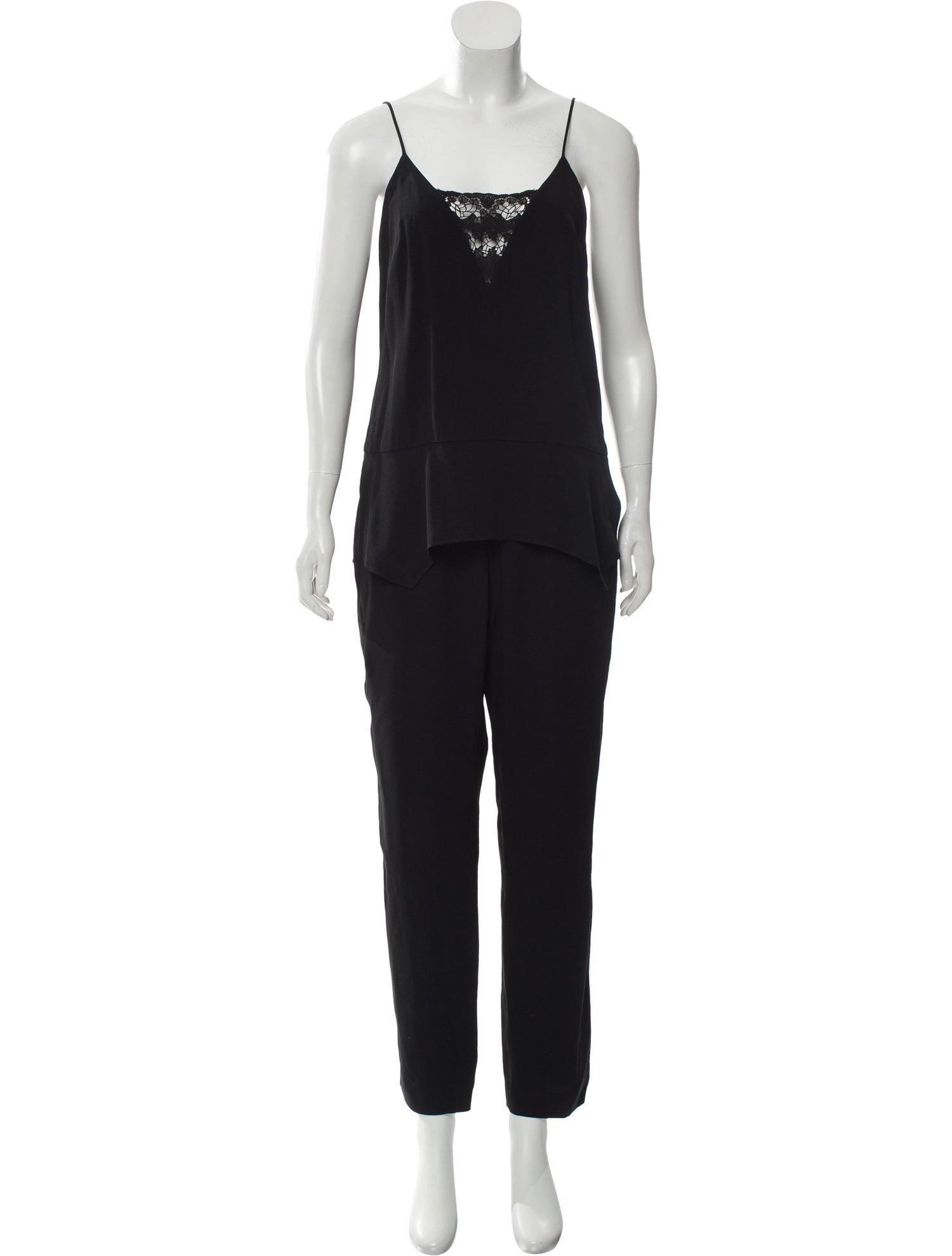 THAKOON Sleeveless Straight-Leg Jumpsuit, $29 @therealreal.com