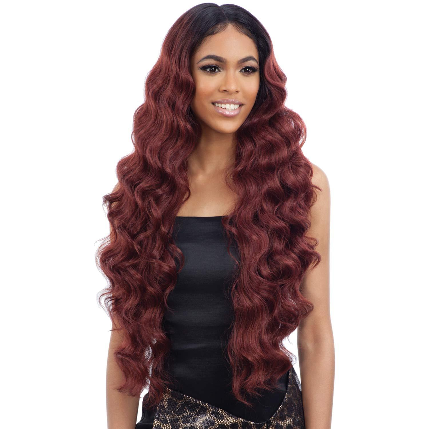 """FreeTress Equal Synthetic Hair Lace Front Wig 5"""" Deep Part Baby Hair 102 (1), $37 @amazon.com"""