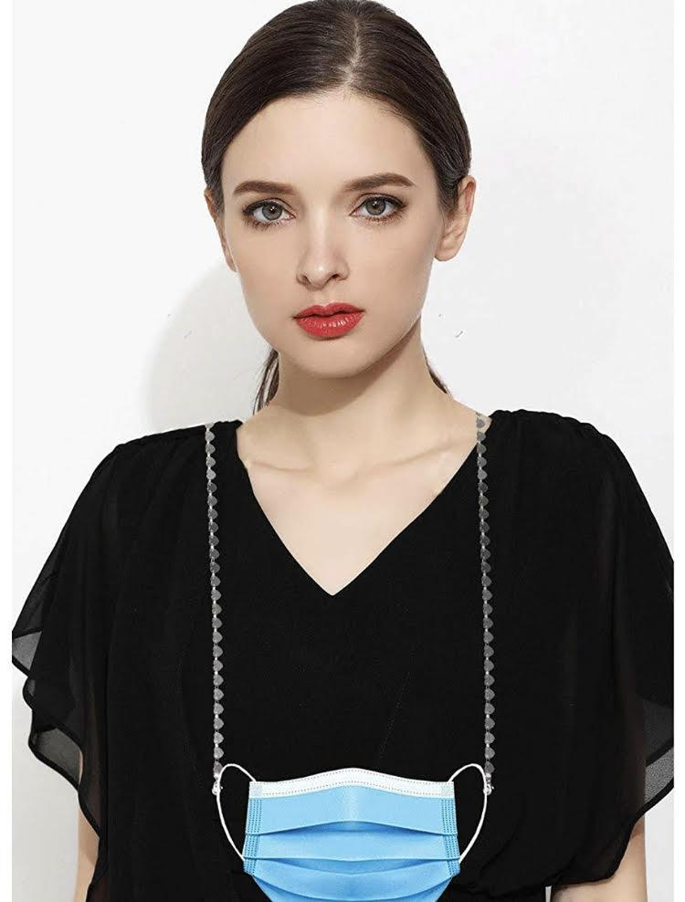 Heart Shape Mask Chain, $11.99 @amazon.com