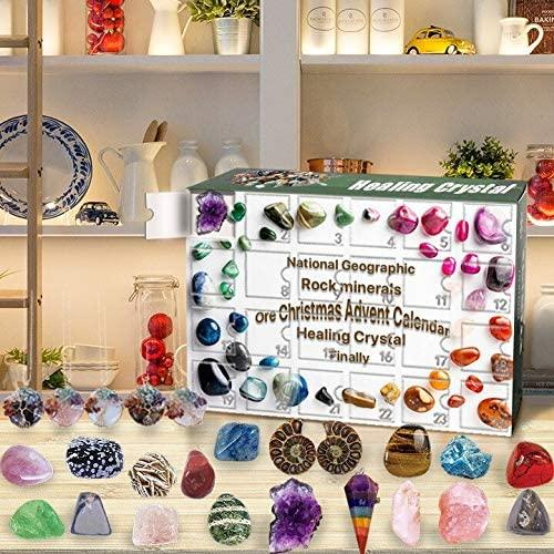 Healing Crystal Advent Calendar, $39 @amazon.com