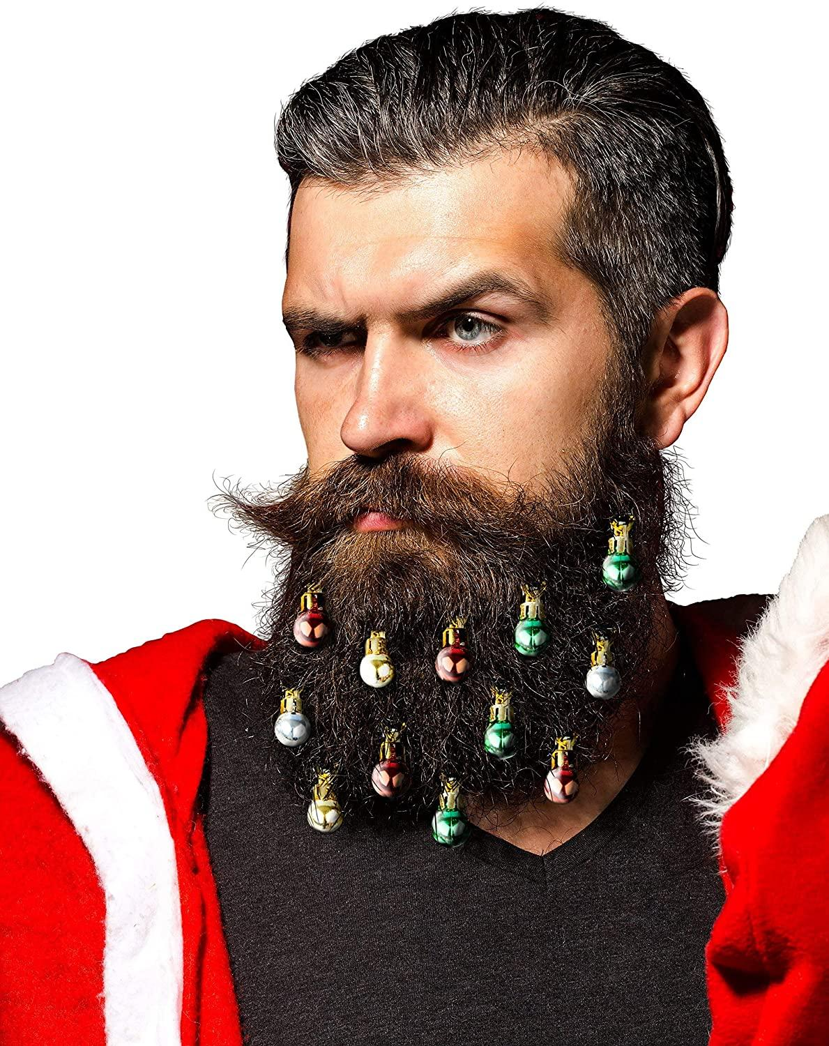 Beardaments Beard Ornaments, $10 @amazon.com