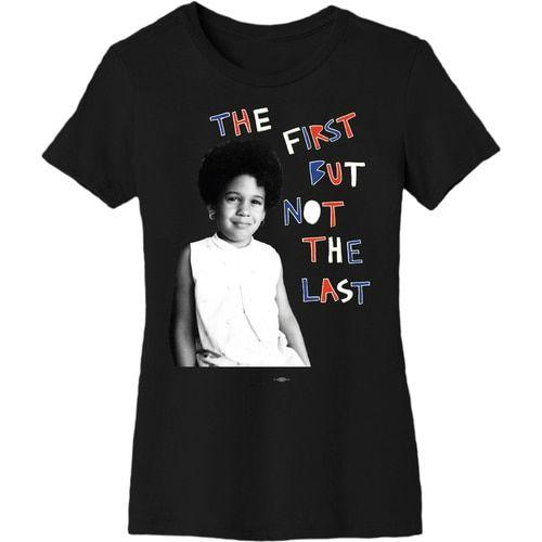 The First But Not The Last T-Shirt (Collaboration from Cleo Wade), $35 @store.joebiden.com