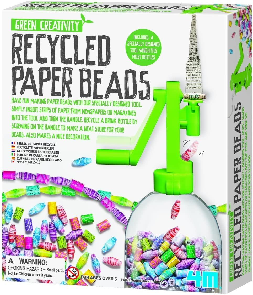 4M Green Creativity Recycled Paper Beads Kit, $11.99 @amazon.com