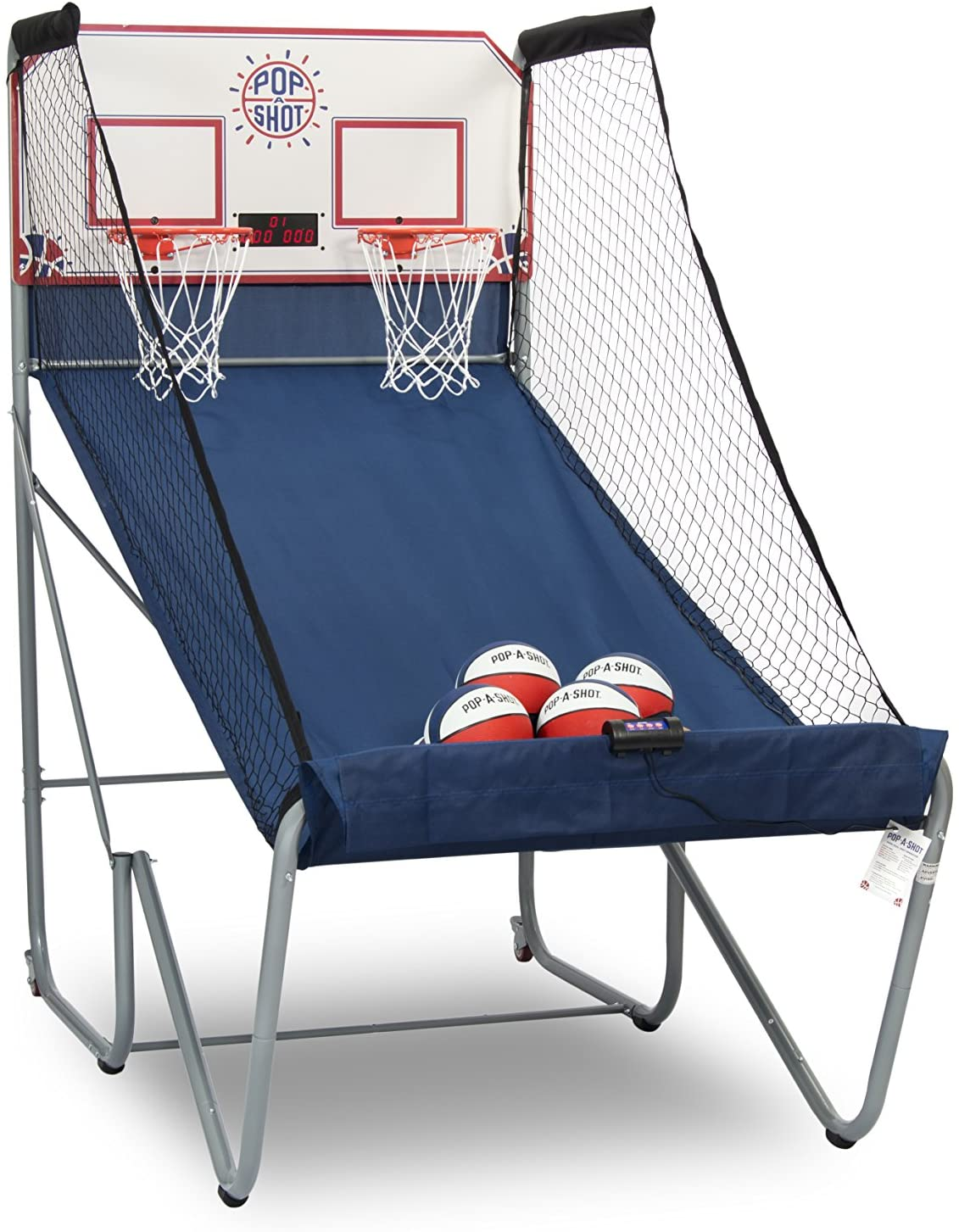 Pop-A-Shot Official Home Dual Shot Basketball Arcade Game, $300 @amazon.com