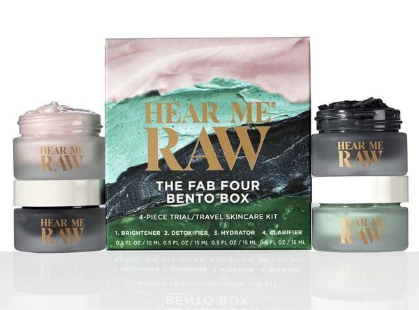 HEAR ME RAW The Fab Four Bento Box Gift Set, $38 @amazon.com