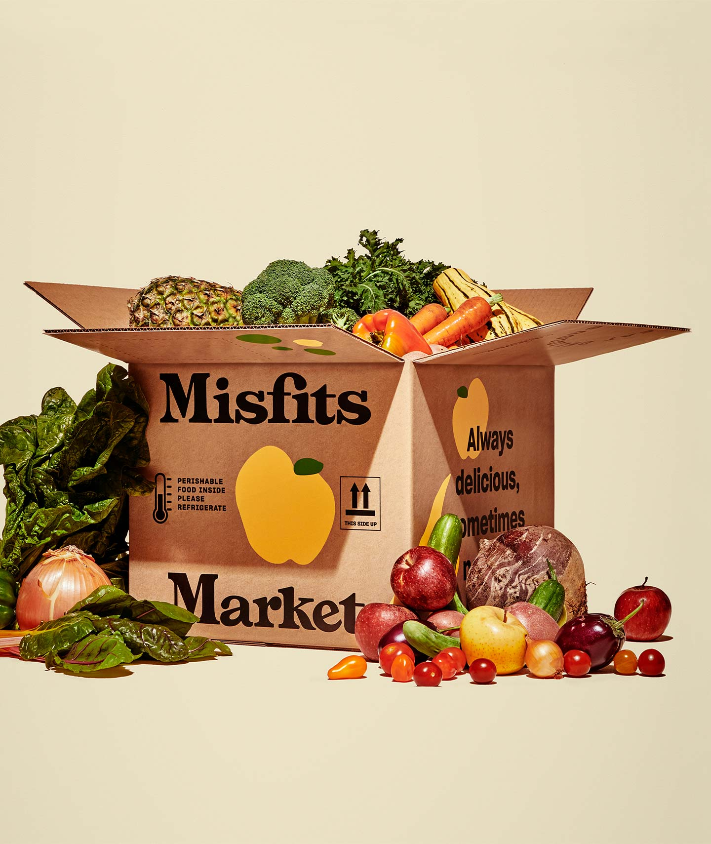 Misfits Market Box Stuffed with Organic Fruit and Veg, $22-35 @misfitsmarket.com - 50% off right now with our code COOKWME-DK8PXH