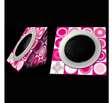 """AON BOX """"Haute Pink"""" Collapsible Portable Green Speakers, $19.95 @theultimategreenstore.com"""