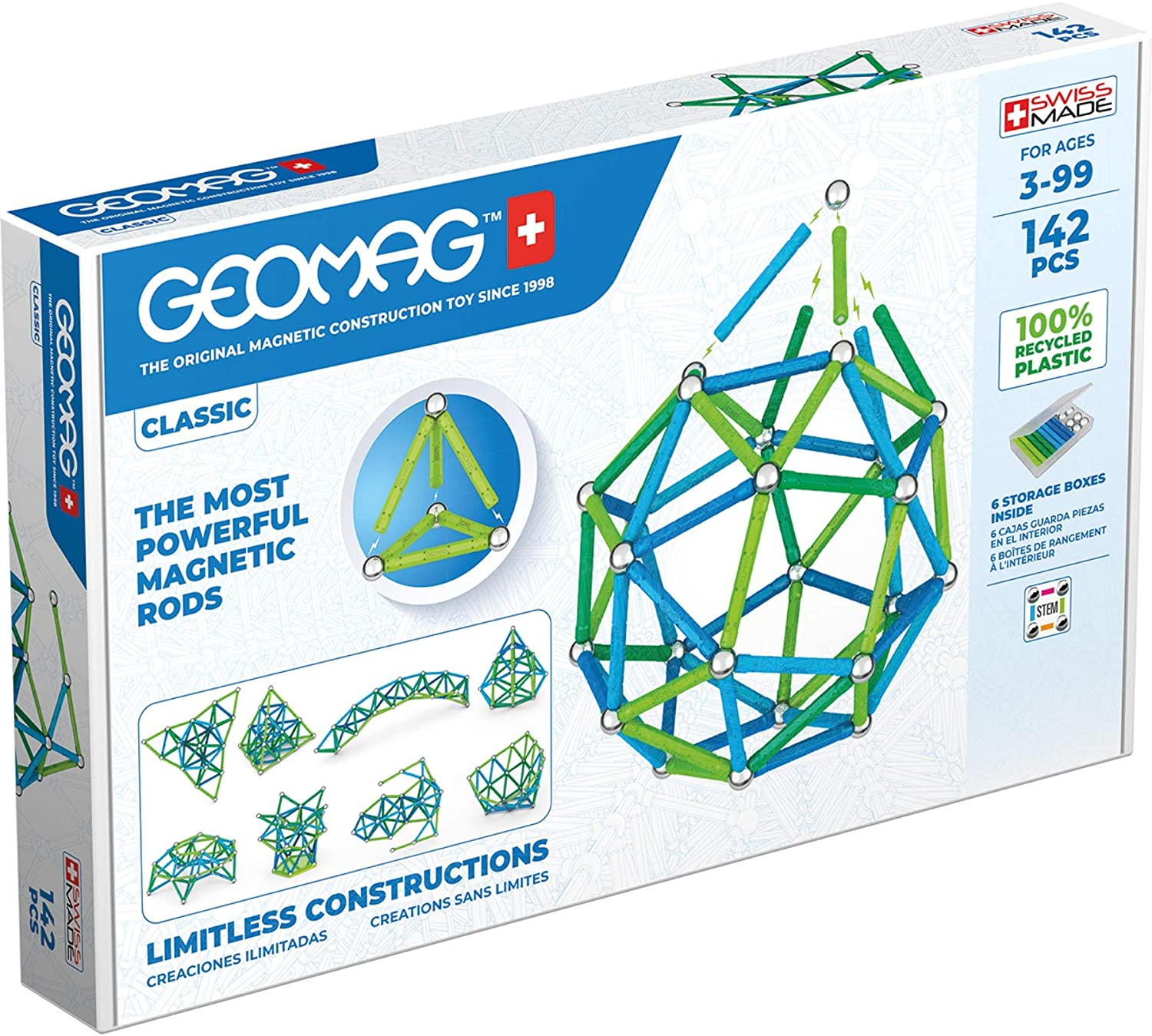 Geomag Magnetic Sticks and Balls Building Set, $20-79 (depending on set size) @amazon.com