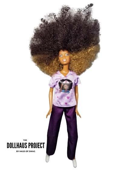 Black Nurses Rock Collector Doll, $125 @hausofswag.com